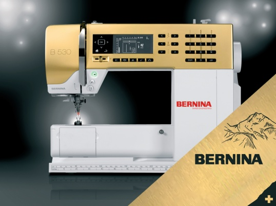 Bernina 530 d'Or coming soon